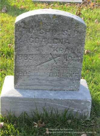 KRALL, MAGDALENA - Lucas County, Ohio | MAGDALENA KRALL - Ohio Gravestone Photos