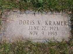 CADARET KRAMER, DORIS V. - Lucas County, Ohio | DORIS V. CADARET KRAMER - Ohio Gravestone Photos