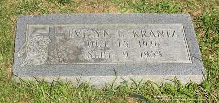 KRANTZ, EVELYN C. - Lucas County, Ohio | EVELYN C. KRANTZ - Ohio Gravestone Photos