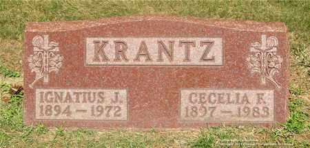 KRANTZ, IGNATIUS J. - Lucas County, Ohio | IGNATIUS J. KRANTZ - Ohio Gravestone Photos