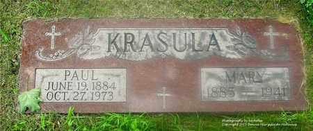 KRASULA, PAUL - Lucas County, Ohio | PAUL KRASULA - Ohio Gravestone Photos
