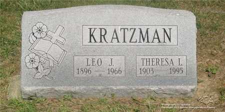 KRATZMAN, THERESA L. - Lucas County, Ohio   THERESA L. KRATZMAN - Ohio Gravestone Photos