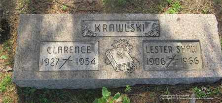 KRAWLSKI, CLARENCE - Lucas County, Ohio   CLARENCE KRAWLSKI - Ohio Gravestone Photos