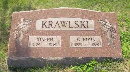 KRAWLSKI, GLADYS - Lucas County, Ohio | GLADYS KRAWLSKI - Ohio Gravestone Photos