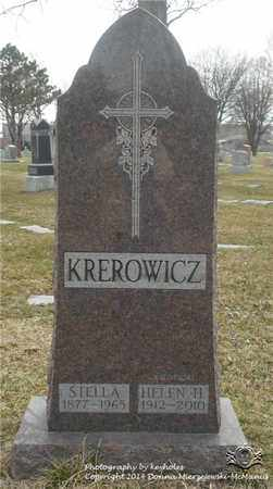 KREROWICZ, STELLA - Lucas County, Ohio | STELLA KREROWICZ - Ohio Gravestone Photos