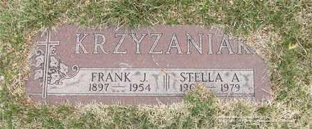 KRZYZANIAK, STELLA A. - Lucas County, Ohio | STELLA A. KRZYZANIAK - Ohio Gravestone Photos