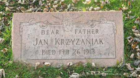 KRZYZANIAK, JAN - Lucas County, Ohio | JAN KRZYZANIAK - Ohio Gravestone Photos