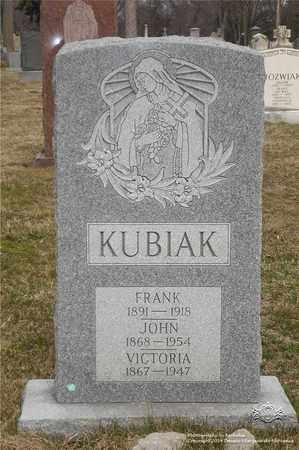KUBIAK, FRANK - Lucas County, Ohio | FRANK KUBIAK - Ohio Gravestone Photos