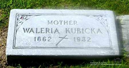 KUBICKA, WALERIA - Lucas County, Ohio   WALERIA KUBICKA - Ohio Gravestone Photos