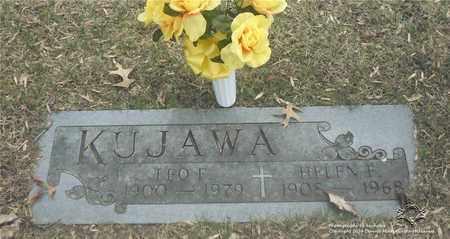KUJAWA, LEO F. - Lucas County, Ohio | LEO F. KUJAWA - Ohio Gravestone Photos