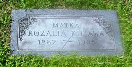 KUJAWA, ROZALIA - Lucas County, Ohio   ROZALIA KUJAWA - Ohio Gravestone Photos