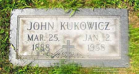 KUKOWICZ, JOHN - Lucas County, Ohio   JOHN KUKOWICZ - Ohio Gravestone Photos