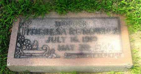 KUKOWICZ, THERESA - Lucas County, Ohio | THERESA KUKOWICZ - Ohio Gravestone Photos