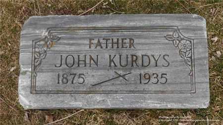 KURDYS, JOHN - Lucas County, Ohio | JOHN KURDYS - Ohio Gravestone Photos