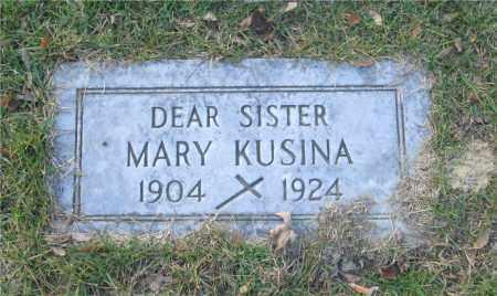 KUSINA, MARY - Lucas County, Ohio | MARY KUSINA - Ohio Gravestone Photos
