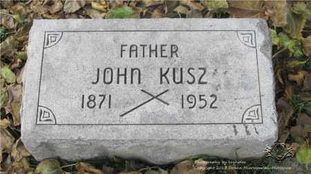 KUSZ, JOHN - Lucas County, Ohio   JOHN KUSZ - Ohio Gravestone Photos