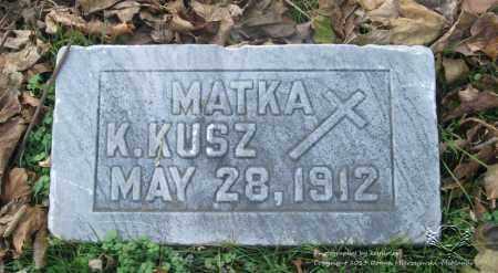 MACKOWSKI KUSZ, KATARZYNA - Lucas County, Ohio   KATARZYNA MACKOWSKI KUSZ - Ohio Gravestone Photos