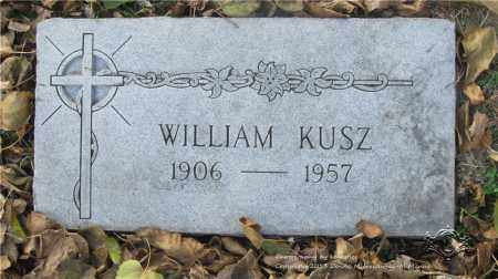 KUSZ, WILLIAM - Lucas County, Ohio   WILLIAM KUSZ - Ohio Gravestone Photos