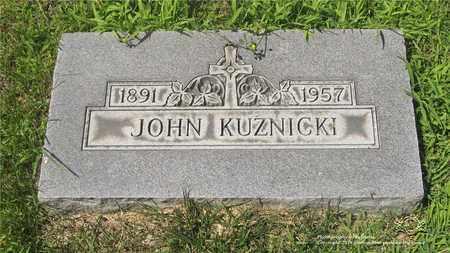 KUZNICKI, JOHN - Lucas County, Ohio | JOHN KUZNICKI - Ohio Gravestone Photos
