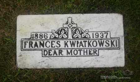 JANISZEWSKI KWAITKOWSKI, FRANCES - Lucas County, Ohio | FRANCES JANISZEWSKI KWAITKOWSKI - Ohio Gravestone Photos