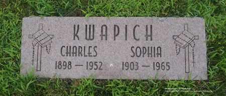 KWAPICH, SOPHIA - Lucas County, Ohio | SOPHIA KWAPICH - Ohio Gravestone Photos