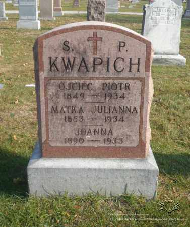 KWAPICH, JULIANNA - Lucas County, Ohio | JULIANNA KWAPICH - Ohio Gravestone Photos