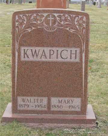KWAPICH, MARY - Lucas County, Ohio   MARY KWAPICH - Ohio Gravestone Photos