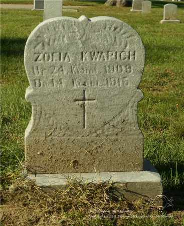 KWAPICH, ZOFIA - Lucas County, Ohio | ZOFIA KWAPICH - Ohio Gravestone Photos