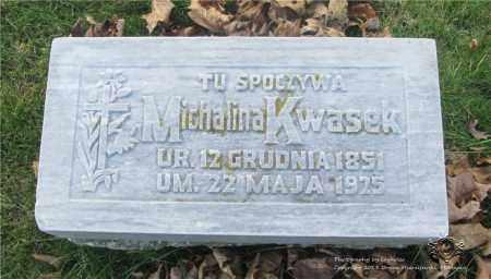 KWASEK, MICHALINA - Lucas County, Ohio | MICHALINA KWASEK - Ohio Gravestone Photos