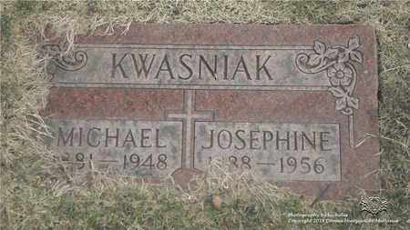 KWASNIAK, JOSEPHINE - Lucas County, Ohio | JOSEPHINE KWASNIAK - Ohio Gravestone Photos