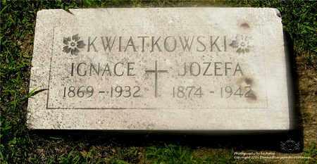 KWIATKOWSKI, IGNACE - Lucas County, Ohio | IGNACE KWIATKOWSKI - Ohio Gravestone Photos