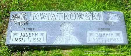 KWIATKOWSKI, SOPHIA - Lucas County, Ohio | SOPHIA KWIATKOWSKI - Ohio Gravestone Photos