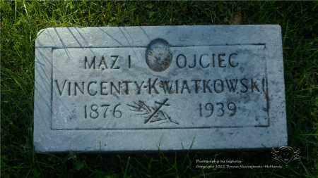 KWIATKOWSKI, VINCENTY - Lucas County, Ohio | VINCENTY KWIATKOWSKI - Ohio Gravestone Photos