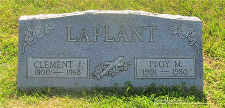 LAPLANT, CLEMENT J. - Lucas County, Ohio | CLEMENT J. LAPLANT - Ohio Gravestone Photos