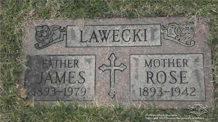LAWECKI, ROSE - Lucas County, Ohio | ROSE LAWECKI - Ohio Gravestone Photos