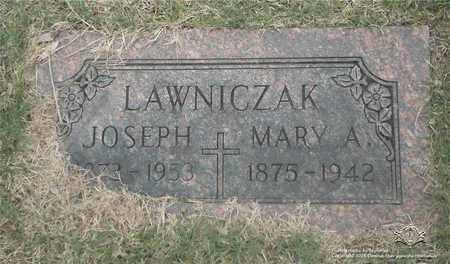LAWNICZAK, MARY A. - Lucas County, Ohio | MARY A. LAWNICZAK - Ohio Gravestone Photos
