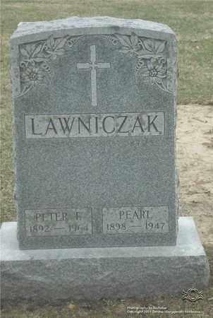 LAWNICZAK, PETER F. - Lucas County, Ohio | PETER F. LAWNICZAK - Ohio Gravestone Photos