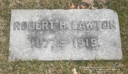 LAWTON, ROBERT H. - Lucas County, Ohio   ROBERT H. LAWTON - Ohio Gravestone Photos