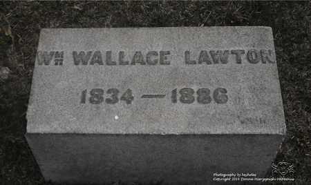 LAWTON, WM. WALLACE - Lucas County, Ohio | WM. WALLACE LAWTON - Ohio Gravestone Photos