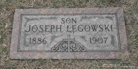 LEGOWSKI, JOSEPH - Lucas County, Ohio | JOSEPH LEGOWSKI - Ohio Gravestone Photos
