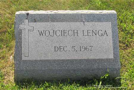 LENGA, WOJCIECH - Lucas County, Ohio | WOJCIECH LENGA - Ohio Gravestone Photos