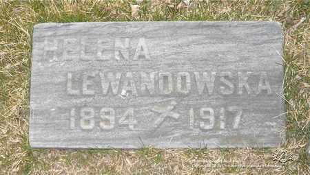 LEWANDOWSKA, HELENA - Lucas County, Ohio | HELENA LEWANDOWSKA - Ohio Gravestone Photos