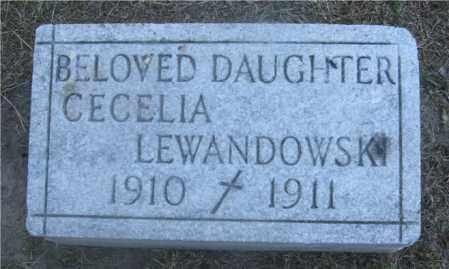 LEWANDOWSKI, CECELIA - Lucas County, Ohio | CECELIA LEWANDOWSKI - Ohio Gravestone Photos