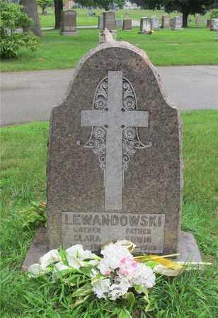 LEWANDOWSKI, CLARA - Lucas County, Ohio   CLARA LEWANDOWSKI - Ohio Gravestone Photos