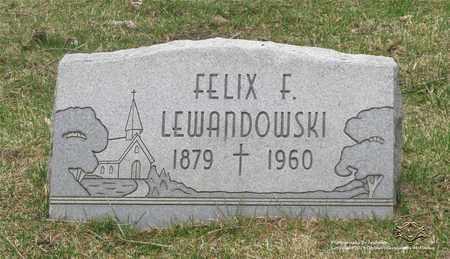 LEWANDOWSKI, FELIX F. - Lucas County, Ohio | FELIX F. LEWANDOWSKI - Ohio Gravestone Photos