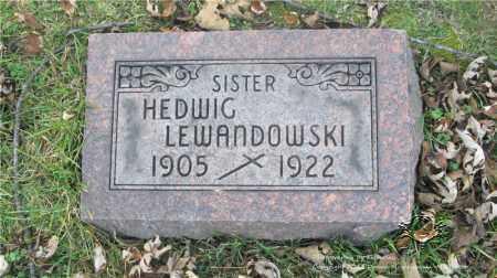 LEWANDOWSKI, HEDWIG - Lucas County, Ohio   HEDWIG LEWANDOWSKI - Ohio Gravestone Photos