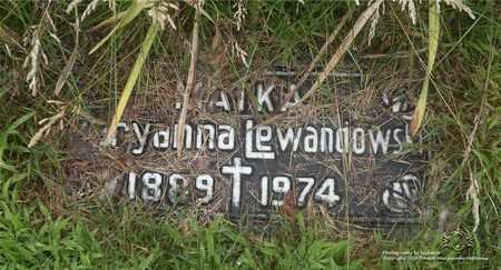KALEJA LEWANDOWSKI, MARYANNA - Lucas County, Ohio | MARYANNA KALEJA LEWANDOWSKI - Ohio Gravestone Photos