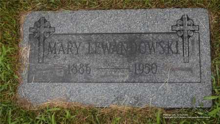 NIEBOJEWSKI LEWANDOWSKI, MARY - Lucas County, Ohio | MARY NIEBOJEWSKI LEWANDOWSKI - Ohio Gravestone Photos