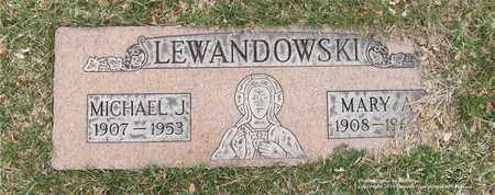 LEWANDOWSKI, MARY A. - Lucas County, Ohio | MARY A. LEWANDOWSKI - Ohio Gravestone Photos