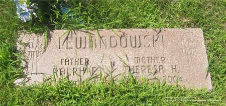 LEWANDOWSKI, THERESA H. - Lucas County, Ohio | THERESA H. LEWANDOWSKI - Ohio Gravestone Photos